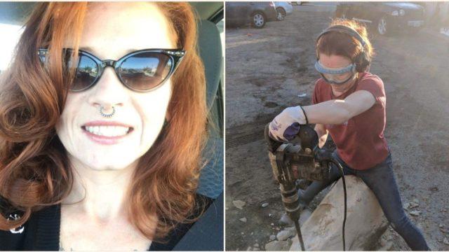 Geologist gets revenge on neighbour who left huge boulder in her driveway
