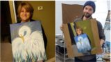 Woman inadvertently starts brilliant game of 'paintception' on Twitter