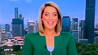 Ozzy news reporter trolled online for wardrobe selection
