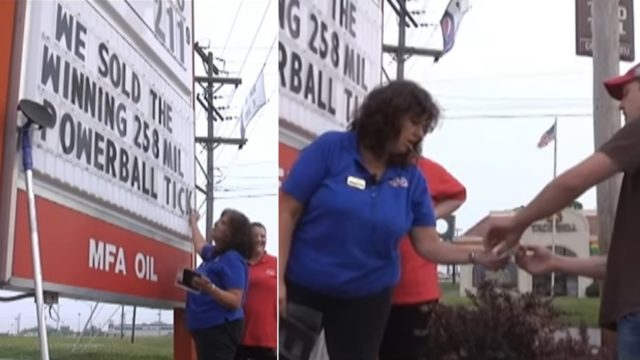 Employee confronts boss with $258.5 million lotto ticket he bought from her store