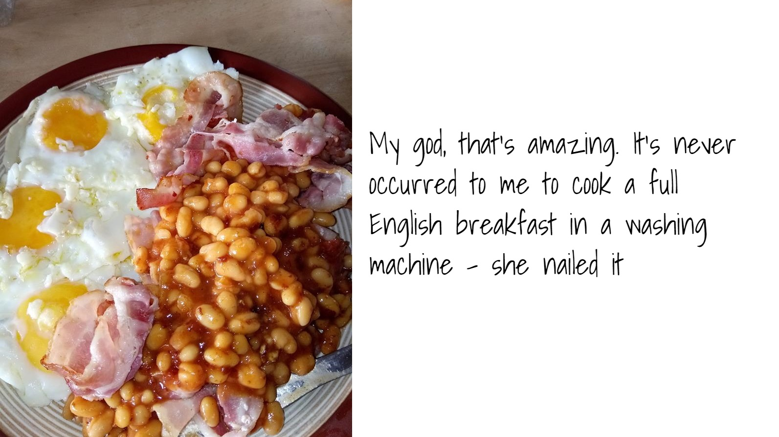"""Sheila posts her breakkie on """"Rate My Plate"""" FB page, gets absolutely roasted"""