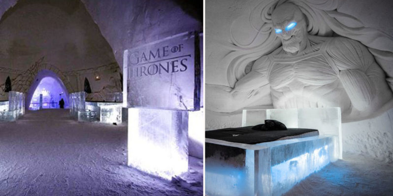 "A Game Of Thrones ""ice hotel"" has opened and you can stay in it"