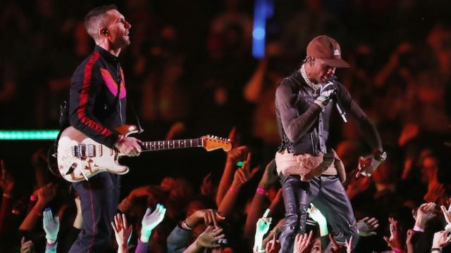Maroon 5 and Travis Scott's half time Super Bowl show described as worst in history