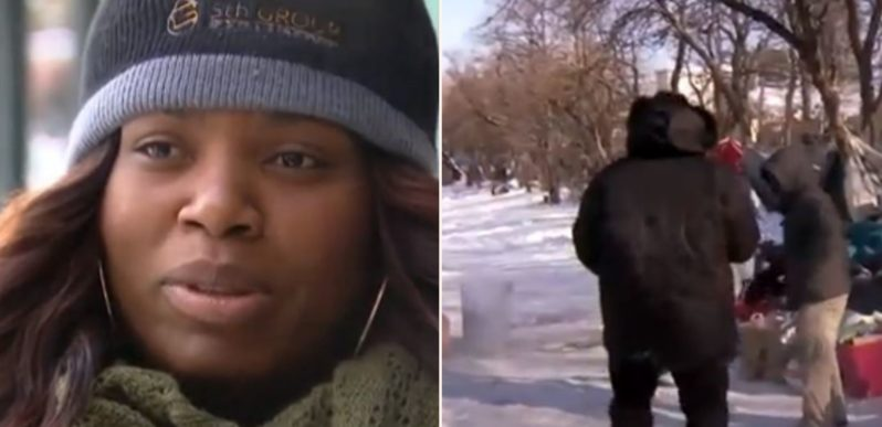Meet the bloody legend who saved homeless people from the polar vortex