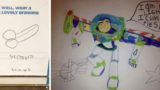 When kids drawings go horribly wrong