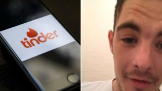 Bloke discovers he is in a Tinder date nightmare when boyfriend arrives at front door