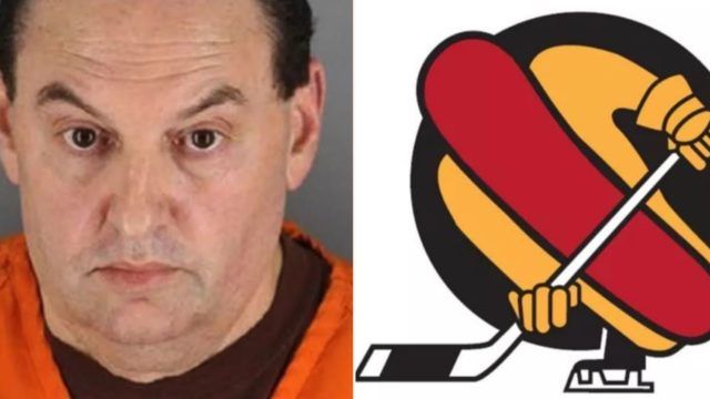 Bloke charged with murder after throwing hot dog napkin in bin at hockey game