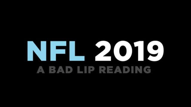 Bad Lip Reading's latest NFL video is f**ken hilarious