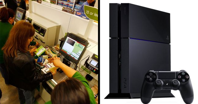 """Teen jailed after buying PS4 for $10 by scanning it as """"fruit"""" at self-checkout, twice"""