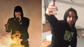 Eminem cannot get over Chris D'Elia's impression of him