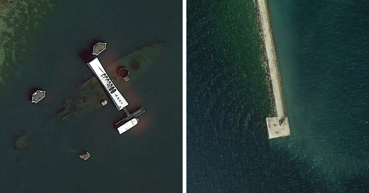 Bloke shares the coolest s**t he has found on Google Earth