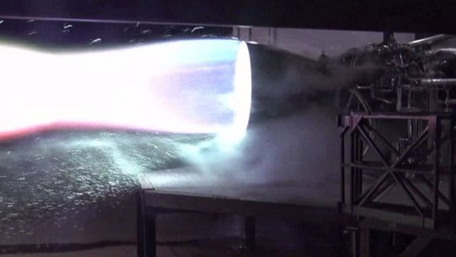 Elon Musk fires the Mars Starship Raptor engine for the first time