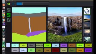 NVIDIA's latest AIsoftware transforms dodgy drawings into works of f***en art