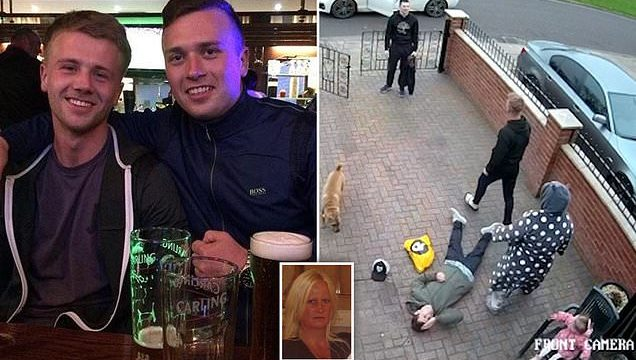 Mum whose son dropped the bloke who was pestering her speaks out