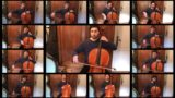 Bloke spends 100+ hours single-handedly playing Lord of the Rings song on 13 cellos