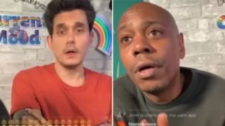"Dave Chappelle calls musician's performance ""gay"" on live Instagram show, gets awkward"