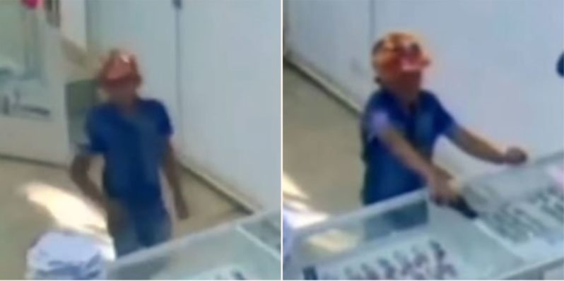 9-year-old kid attempts to rob jewellery store armed with toy gun but fails miserably