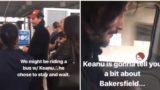 Keanu Reeves organises road trip for stranded passengers after emergency flight landing