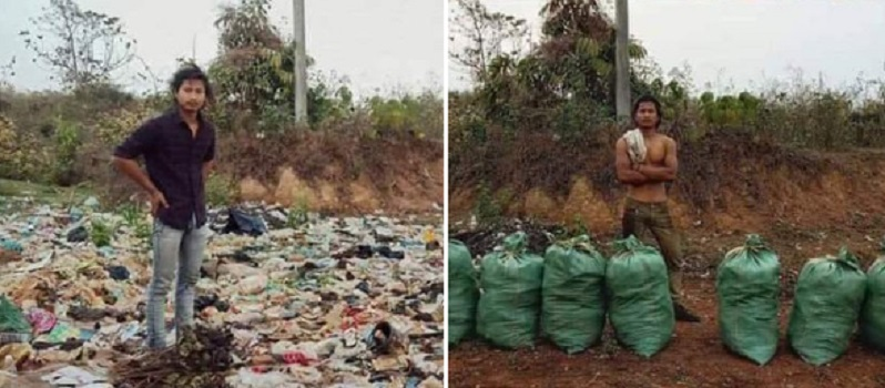 People are cleaning up the planet thanks to new viral hashtag #trashtag Internet challenge