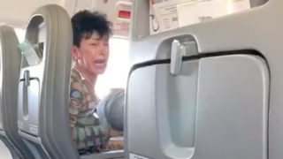 Captain bans sheila midflight after having huge meltdown because no Pepsi was available