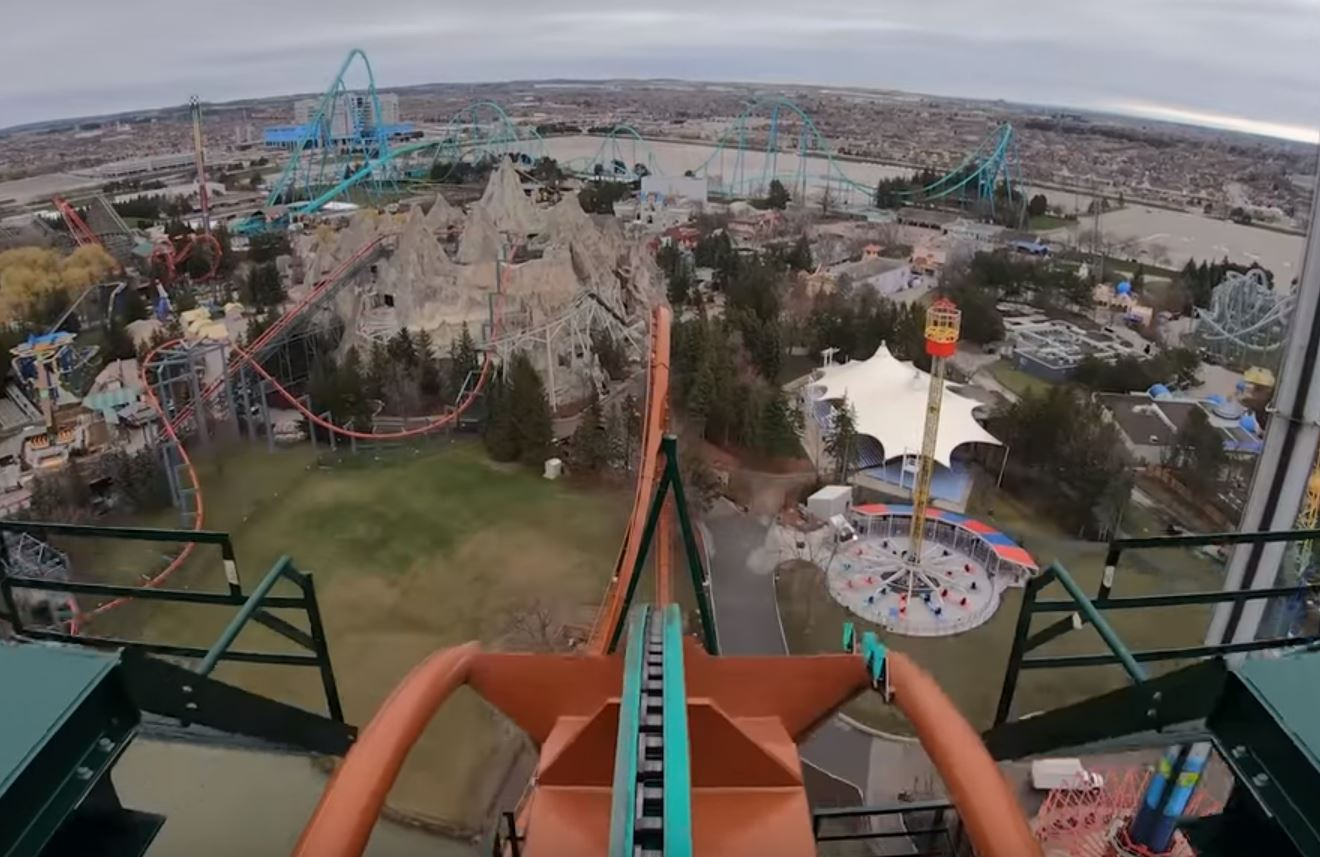 The world's scariest f**ken roller coaster has just opened