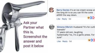 Viral post shows that 99% of blokes have no f***en clue what a speculum is