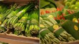 Asian supermarkets are replacing plastic packaging with banana leaves