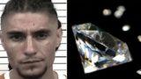 Police find 44 diamonds in bloke's human pocket