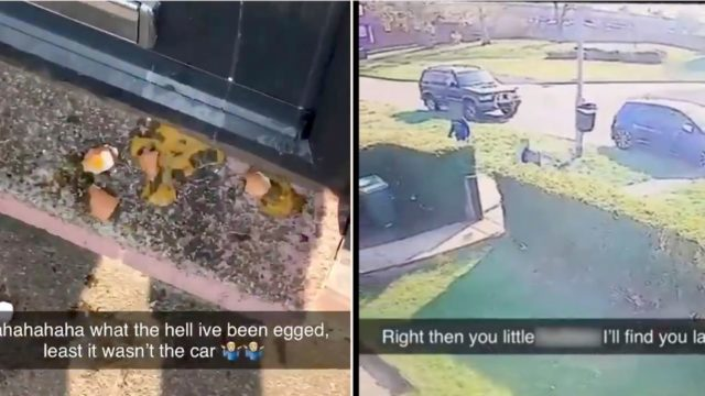 Bloke tracks down kids who egged his house, forces them to clean it up