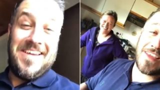 Drunk bloke wakes up in strangers house and the owner's reaction is f**ken gold