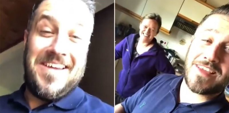 Bloke wakes up in strangers house after partying and the owner's reaction f**ken gold