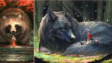 This Japanese artist imagines humans living in a world full of massive animals