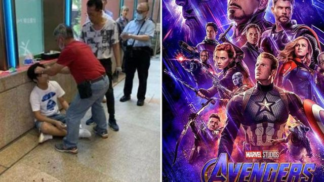 Bloke gets physically assaulted for spoiling Endgame outside cinema