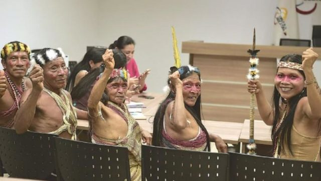 Amazon tribe wins lawsuit against oil company, saving millions of acres of Rainforest