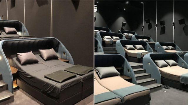 Swiss company launches new VIP gold class cinema that looks f***en mint