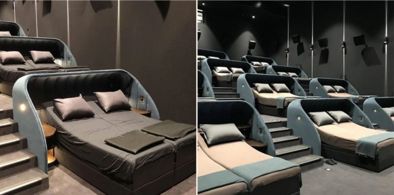 Swiss company launches new VIP gold class cinema that looks f***en mint