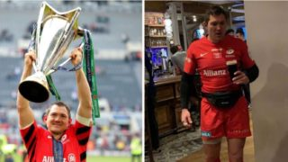 Rugby player celebrating huge win was still drinking 24 hours later in full kit