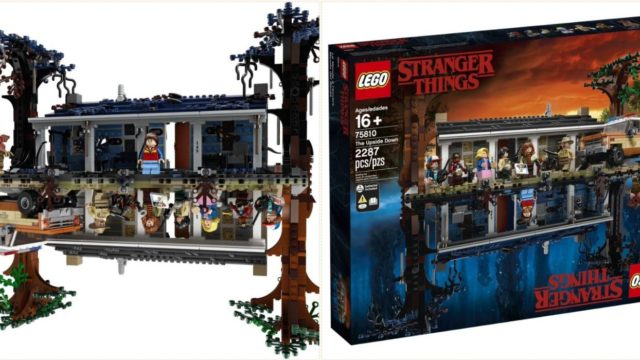 Stranger Things is releasing this f**ken mint Lego set