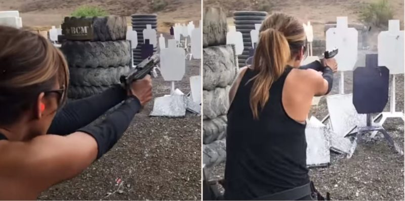 This footage of Halle Berry training for John Wick 3 is f**ken badass