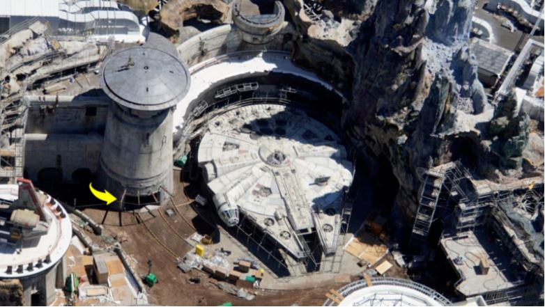 The first pictures of the $A1.4 billion Star Wars attraction have emerged