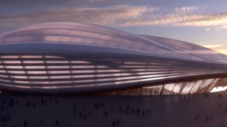 Qatar World Cup stadium revealed and people think it looks like a massive vagina