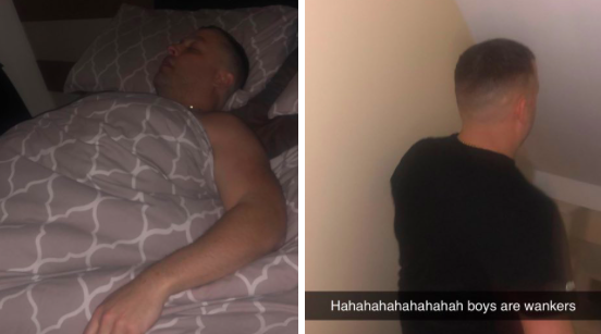 Bloke fakes pictures in bed to hide night out from the missus, goes viral and backfires