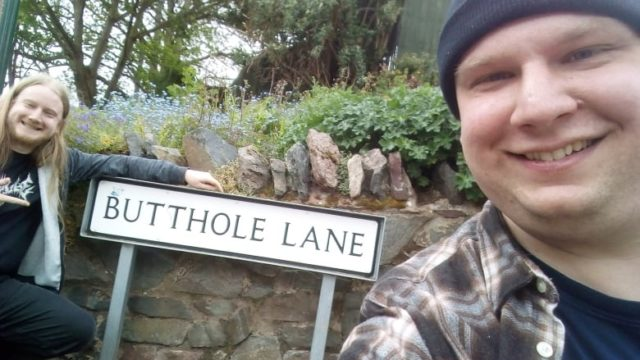 Brothers take road trip around Britain to visit every place with a rude name