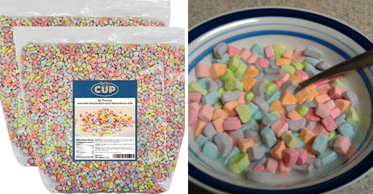 You can now buy huge f**ken bags of pure marshmallow cereal online