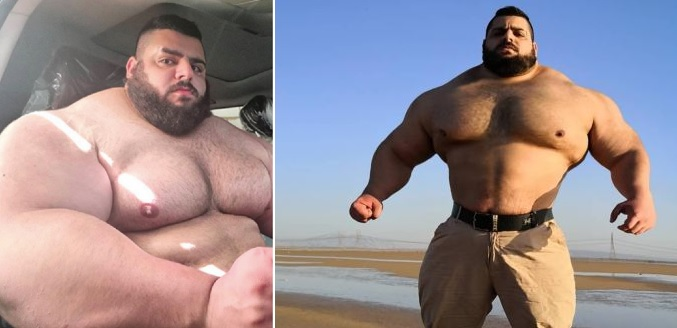 This huge f***en unit just announced his MMA debut
