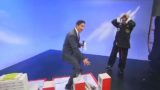 TV Reporter accidentally exposes Kung Fu 'master' on live television