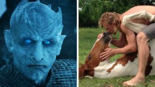Here's what the night king from Game Of Thrones looks like in real life