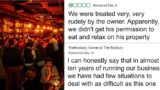 Hotel manager posts perfect response online to bad review