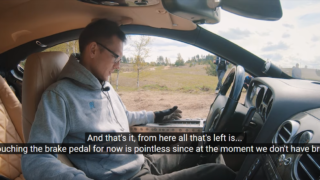 This Russian Youtuber has turned a Bentley into a f**ken tank