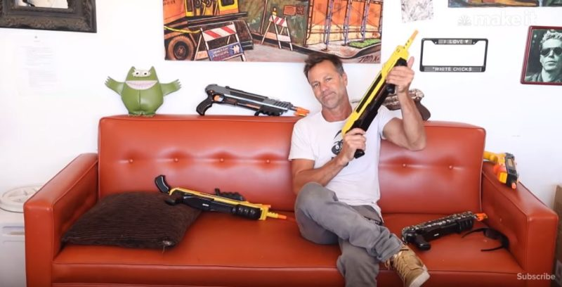 This surfer has made $27 million after inventing salt shooting gun to kill flies